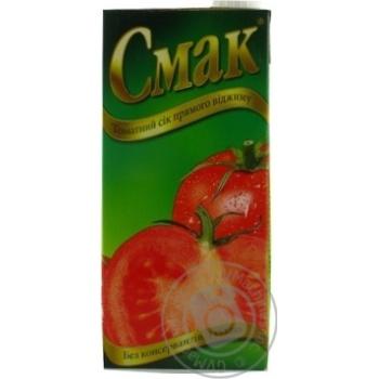 Сок Смак Томатный с солью 1л