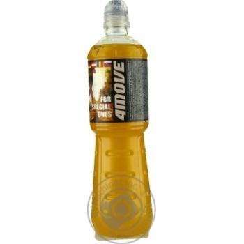 Напій безалкогольний ізотонічний негазований пастеризований зі смаком цитрусів Orange Flavour 4Move  750мл - купить, цены на Novus - фото 2