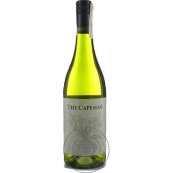 Вино The Capeman Chardonnay белое сухое 13% 0,75л