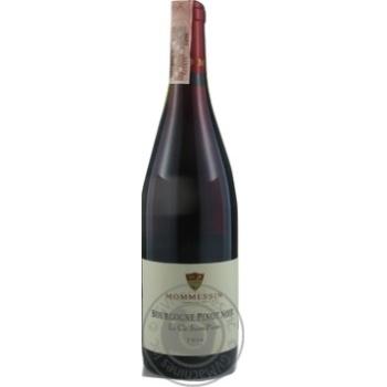 Mommessin Pinot Noir La Cle Saint-Pierre Bourgogne red dry wine 12,5% 0,75l