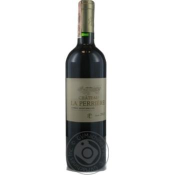 Вино Chateau Perriere Lussac Saint-Emilion червоне сухе 13,5% 0,75л
