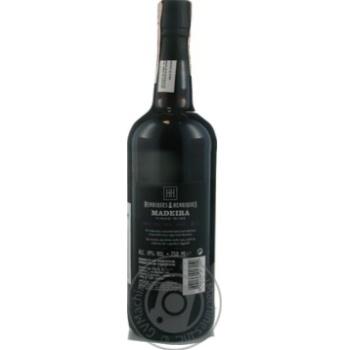 Вино Henriques & Henriques Finest Full Rich Madeira 5 лет красное сладкое 19%0,75л - купить, цены на Novus - фото 2