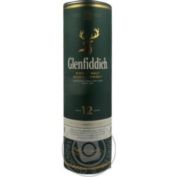 Виски Glenfiddich 12 лет 40% 0,5л