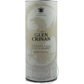 Виски Glen Crinan The Legendary 40% 0,7л