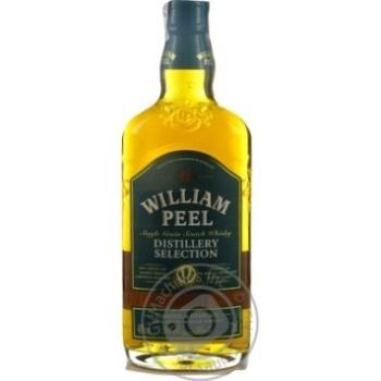 Виски William Peel Distillery Selection 40% 0,7л