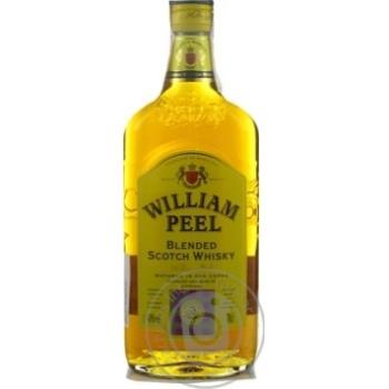 William Peel whisky 40% 0,7l