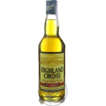 Виски Highland Cross 40% 0,5л