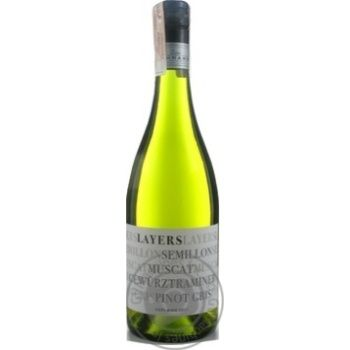Peter Lehmann Layers Semillon-Muscat-Gewurztraminer-Pinot Gris Adelaide white dry wine 12% 0,75l