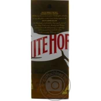 White horse blended scotch wiskey 40% 0,7l