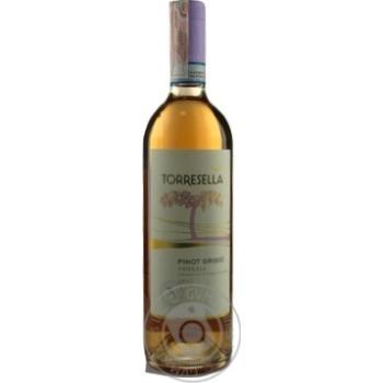 Вино Torresella Pinot Grigio Rose Venezia IGT розовое сухое 12% 0,75л