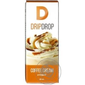 Рідина DripDrop для елек. випаровувачів Coffee Cream 30мл