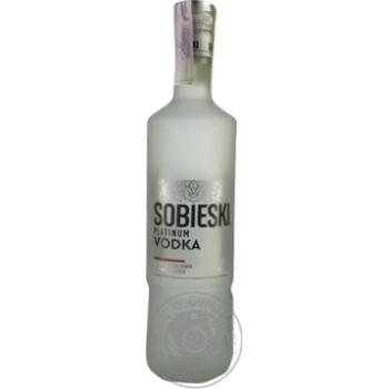 Sobieski Platinum vodka 40% 0,7l