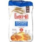 Мука EuroMill пшеничная первый сорт 1кг