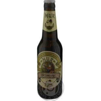 Пиво Mur Blonde Ale світле нефільтроване 4.5% 350мл