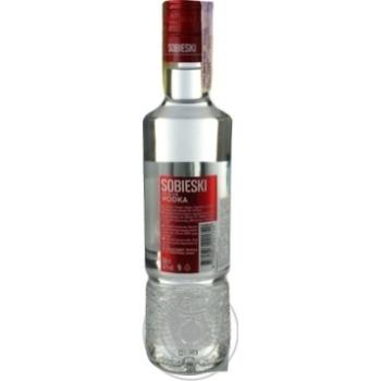 Горілка Sobieski Premium 40% 0,5л - купити, ціни на Novus - фото 2