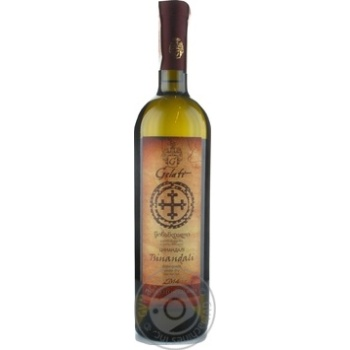 Вино Gelati Tsinandali 13% 0,75л