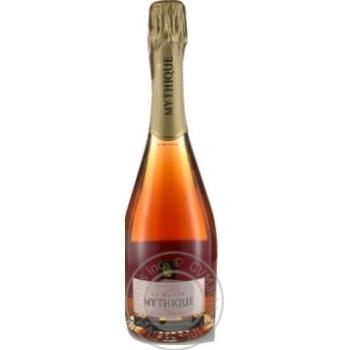 Mythique La Cuvee Brut Reserve Rose Pinot Noir pink dry sparkling wine 12,5% 0,75l - buy, prices for Novus - image 1