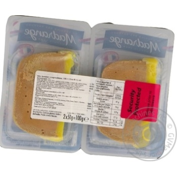 Madrange with port duck mousse 100g - buy, prices for Novus - image 2