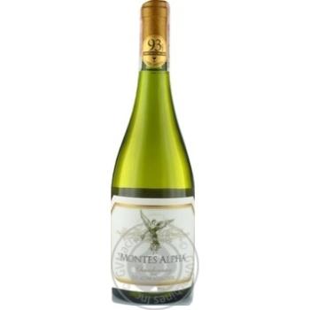 Вино Montes Alpha Chardonnay біле сухе 13,5% 0,75л - купити, ціни на CітіМаркет - фото 1