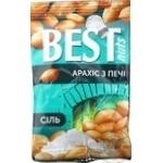 Арахіс Best nuts з печі смажений солоний 80г