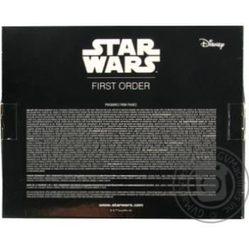 Набір подарунковий дитячий Star Wars First Order (парфумована вода 50 мл + гель для душу 200 мл) La Rive - купить, цены на Novus - фото 2