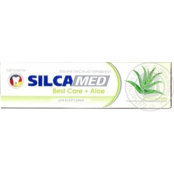 Зубная паста SilcaMed Best Care + Aloe 100мл