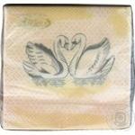 Серветки La Fleur Вічне кохання двошарові 33x33см 20шт
