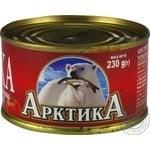 Килька АрктикА черноморская неразобранная в томатном соку №5 230г
