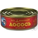 Fish salmon Baltijas №3 canned 230g