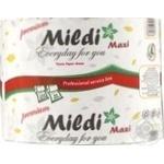 Папір туалетний Mildi-Maxi 65метрів 230 відривів салатовий