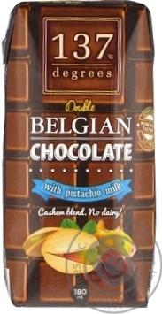 Скидка на Фисташковое молоко 137 degrees шоколадное 180мл