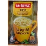 Mivina Garyacha kruzhka ready-to-cook with vermicelli soup-puree 15g
