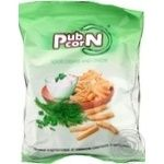 Snack Pubcorn potato with onion 50g