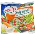 Hortex Stir-fry vegetables with rice and vegetables 400g