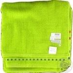 Полотенце махровое Мозаика зеленое 70х140см