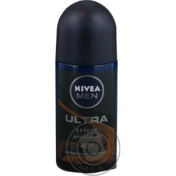 Дезодорант Nivea Men Ultra Carbon 50мл