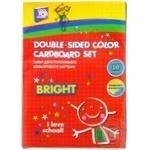 Набір кольорового картону Cool for school 10 аркушів