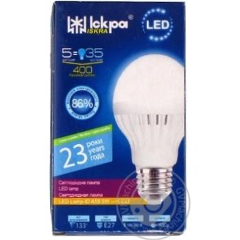 Лампа LED LampID Іскра A55 220В 5Вт 4000K E27 - купить, цены на Novus - фото 1