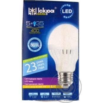 Лампа LED LampID Іскра A55 220В 5Вт 3000K E27