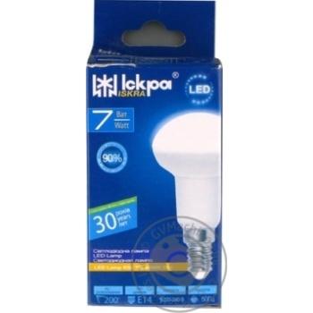 Лампа LED Lamp Іскра R50 220В 7Вт 4000K E14