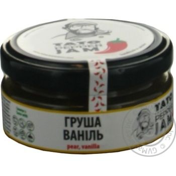 Джем соус груша+ваніль TatoPepperJam 130гр скляна банка