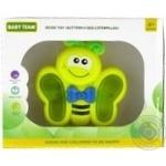 Іграшка музична Метелик/Бджілка/Гусінь Baby Team
