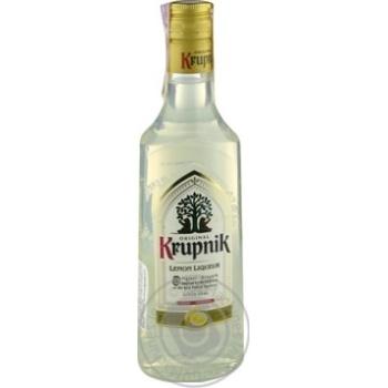 Ликер Krupnik Lemon 32% 0.5л - купить, цены на Novus - фото 1
