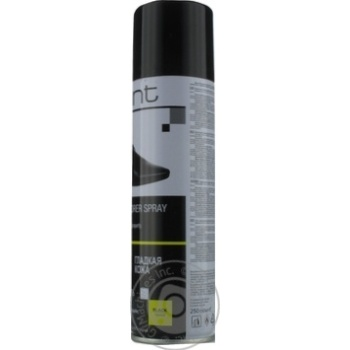 Краска Glint для гладкой кожи черная 250мл - купить, цены на Фуршет - фото 2