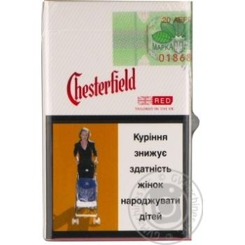 Честерфилд ред сигареты купить в купить моды электронных сигарет в москве