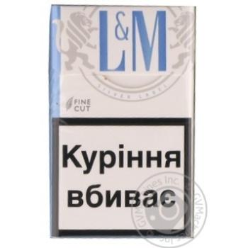Цигарки L&M Silver Label - купити, ціни на Novus - фото 1