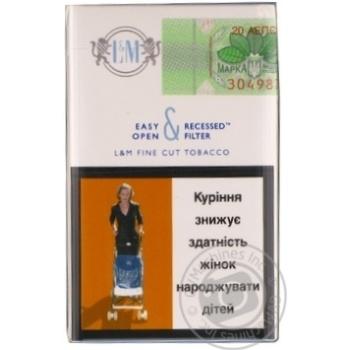 Цигарки L&M Silver Label - купити, ціни на Novus - фото 3