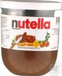Паста Ferrero Nutella орехово-шоколадная с какао 200г