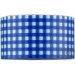 Стрічка клейка пакувальна 48 мм х 20 м Optima Tartan синя