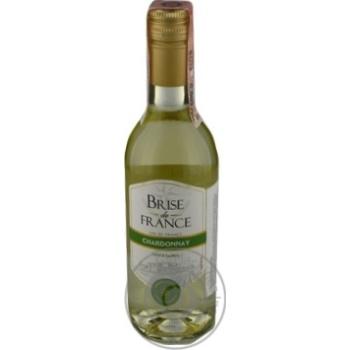 Brise de France Chardonnay white dry wine 12,5% 0,25l